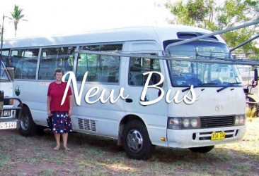2007 New Bus at Mt Isa