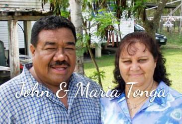 Pastor John & Maria Tonga